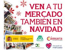 Cuca Gamarra, Carmen Cárdeno, y Leonor González Menorca presentarán mañana día 17 en La Rioja la campaña nacional de Navidad en Mercados Municipales